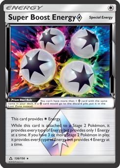 Super Boost Energy Prism Star