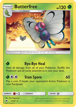 Butterfree BUS 3