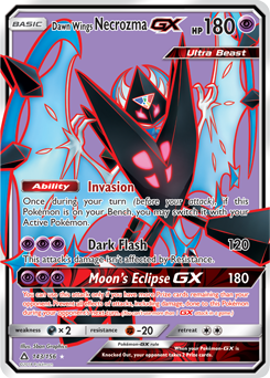 Dawn Wings Necrozma-GX