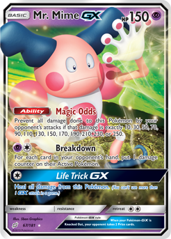 Mr. Mime-GX TEU 67