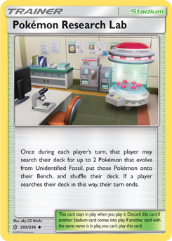 Pokemon Research Lab