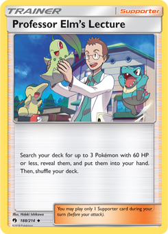 Professor Elm's Lecture LOT 188