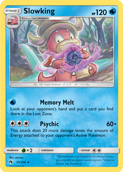 Slowking LOT 55