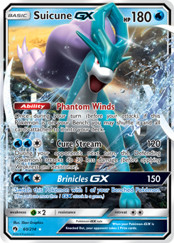 Suicune-GX-60, Lost Thunder (LOT) Price History