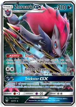 Decks Featuring Zoroark-GX